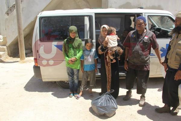 Bantuan Kemanusiaan untuk Anak Yatim dan Janda Suriah