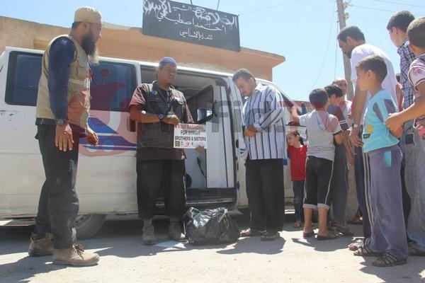 Sekolah Menjadi Tempat Pengungsian Rakyat Suriah